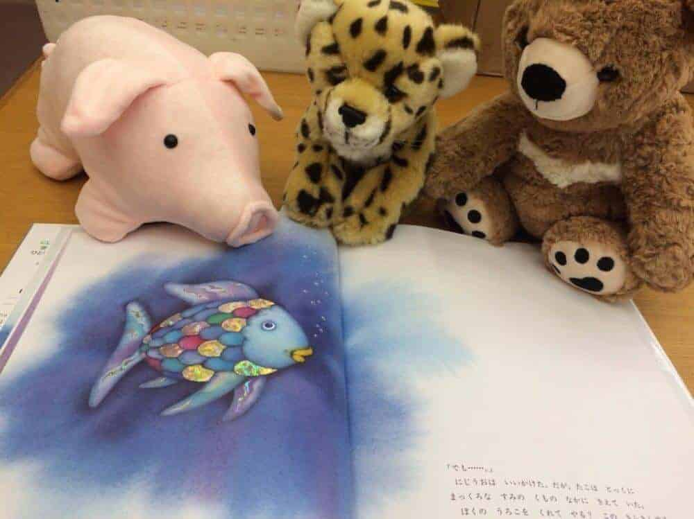 Sleepovers with stuffed animals help children learn to read