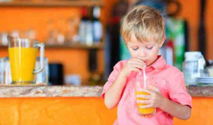 Take Away the Juice, Pediatricians Say