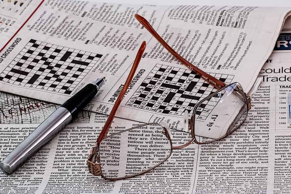 Regular crosswords and number puzzles linked to sharper brain in later life