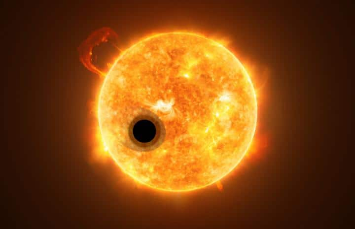Scientists just detected helium in an exoplanet's atmosphere for the first time