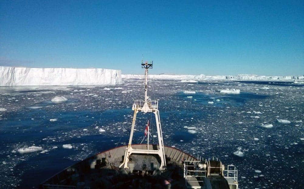 Researchers discover volcanic heat source under major Antarctic glacier