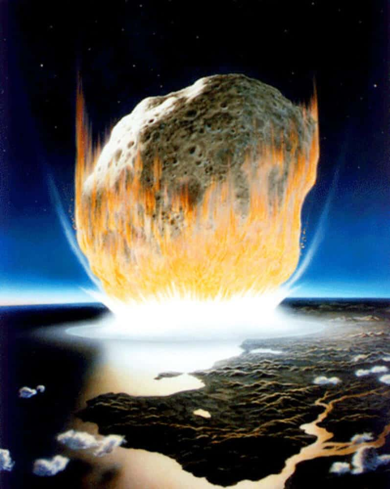 Rocks at Asteroid Impact Site Record First Day of Dinosaur Extinction