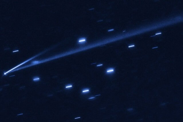 For first time, astronomers catch asteroid in the act of changing color