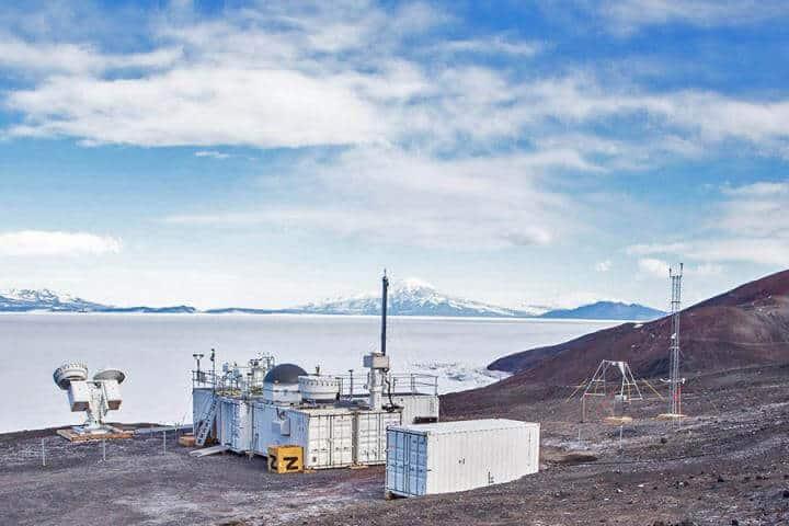 Persistent drizzle at sub-zero temps in Antarctica