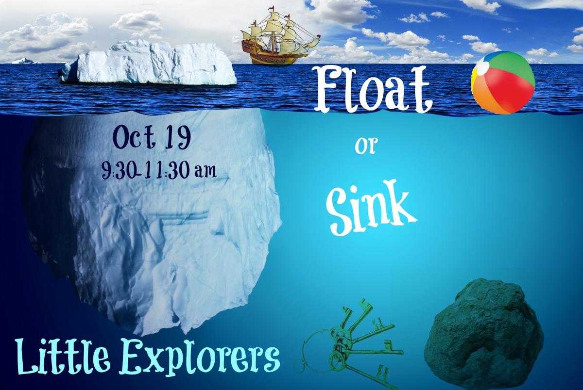 Little Explorers Float Or Sink