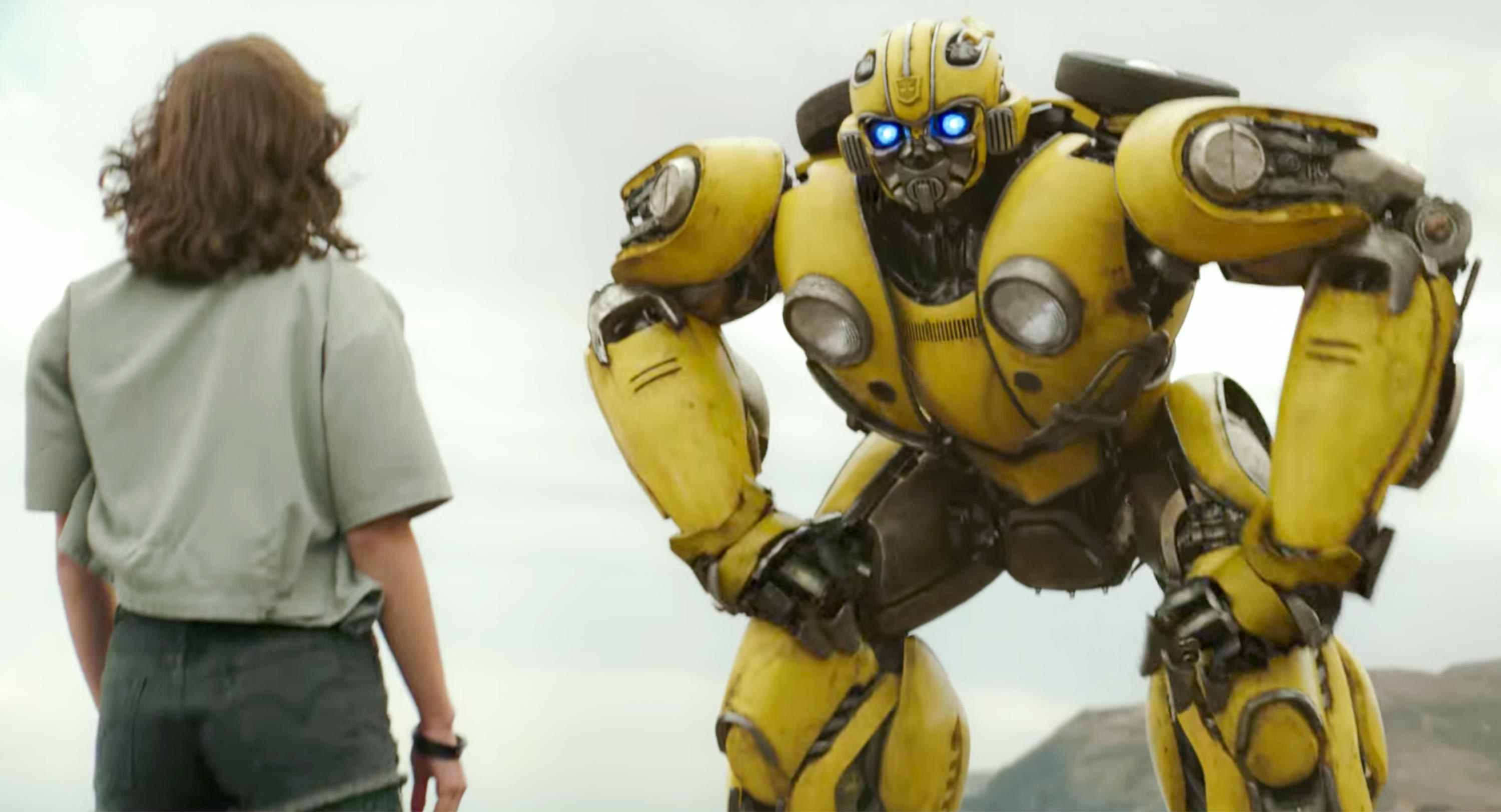 Check Out The Fun New Bumblebe' Clips Which Give Us A Glimpse Of The Heart Of The Film