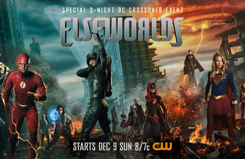 CW Finally Releases Full Elseworlds Crossover Trailer!