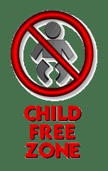 childfree zone