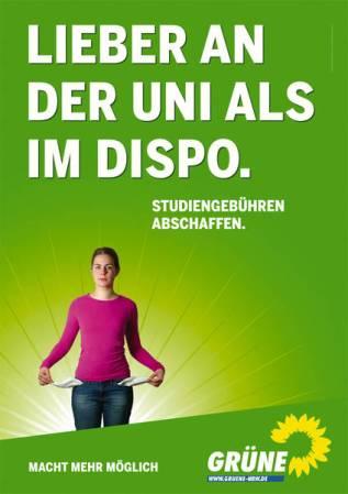 Studiengebühren Grüne