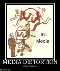 Media distortion