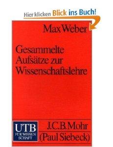Weber Wissenschaftslehre
