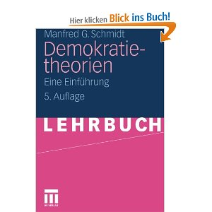Schmidt Demokratietheorie