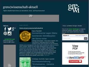 Grenzwissenschaft blog