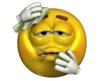 feel sick emoticon 3