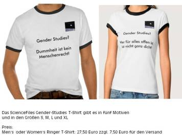 Gender Studies T Shirt