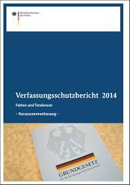 Verfassungsschutzbericht 2014
