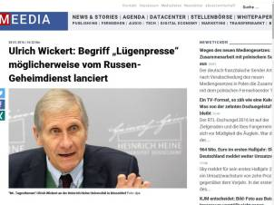 Wickert Luegenpresse