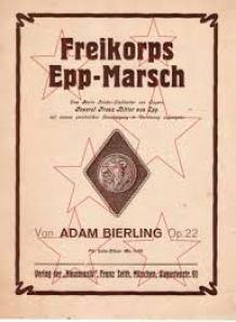 Freikorps Epp marsch