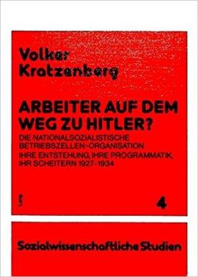 Kratzenberg Arbeiter NSDAP