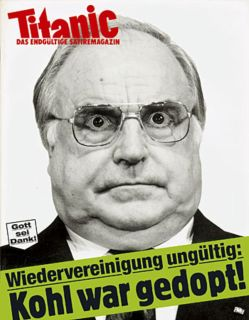 Titanic cover Kohl doping