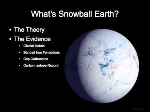 Schneeball Erde: Tektonische Verschiebungen beeinflussen das Klima, nicht Menschen