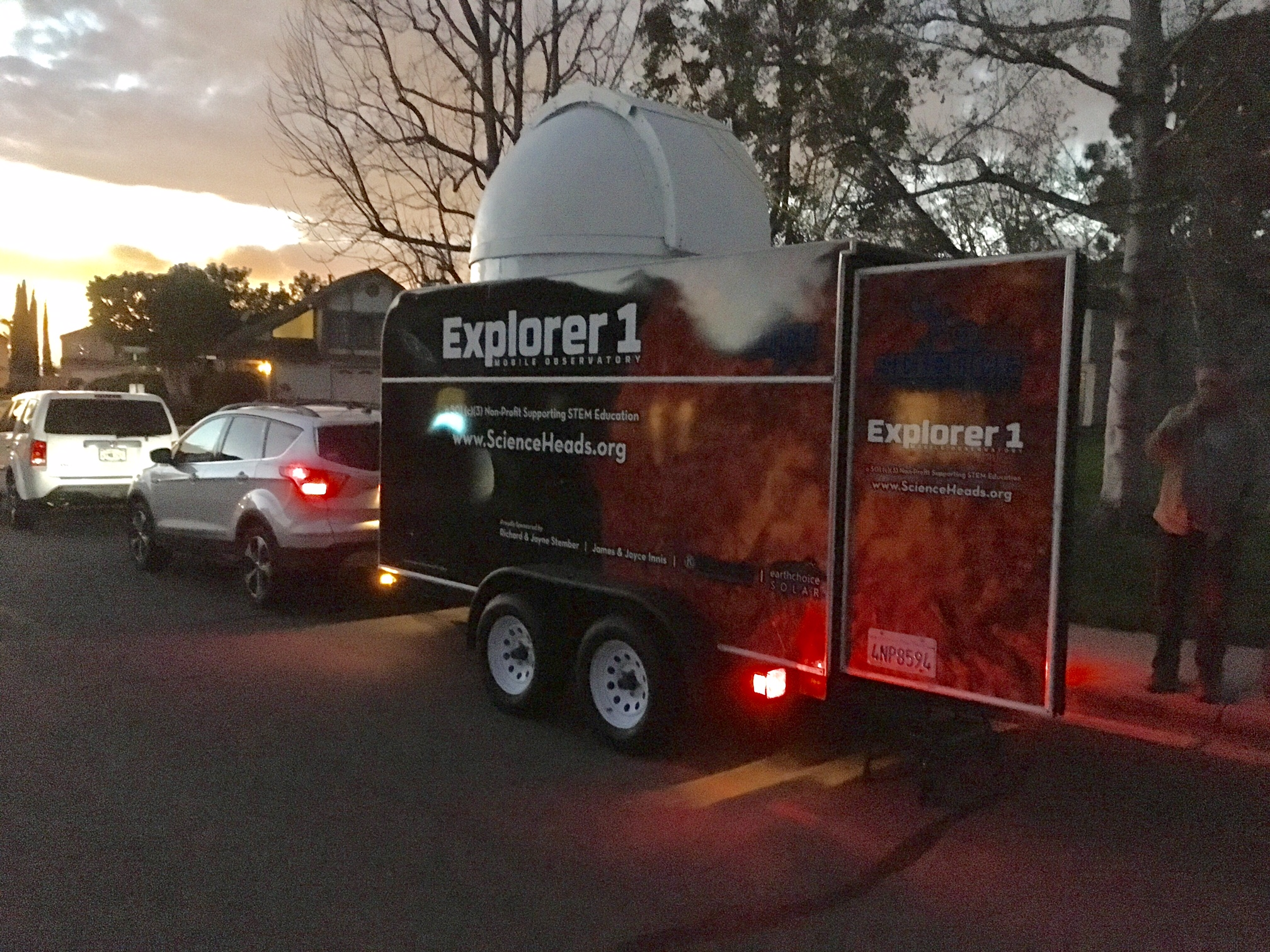 Mobile Observatory Nears Completion – Come See It!
