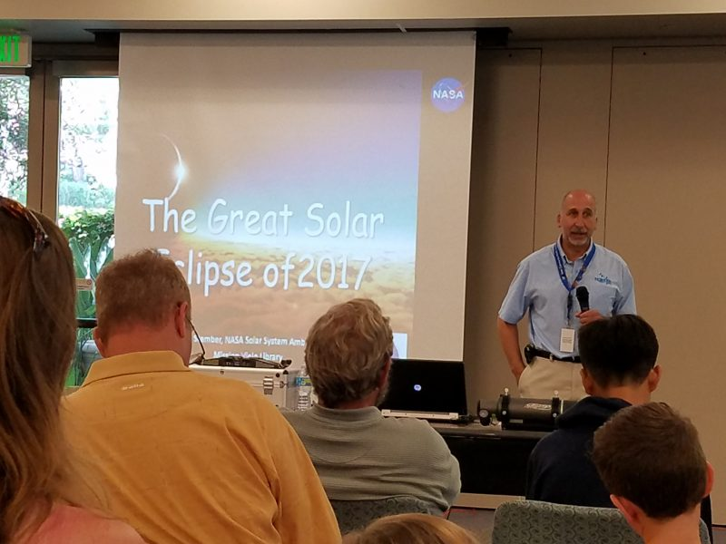 Solar Eclipse Talk at the Mission Viejo Library