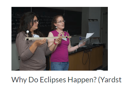 NASA/JPL Yardstick Eclipse Demonstration