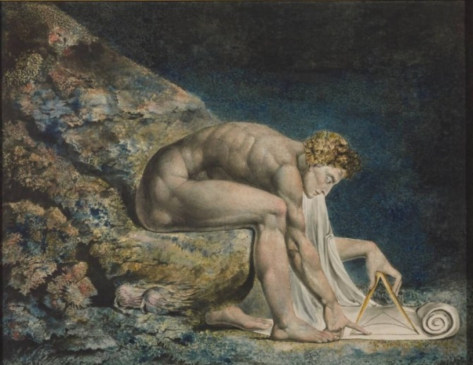 Isaac Newton William Blake