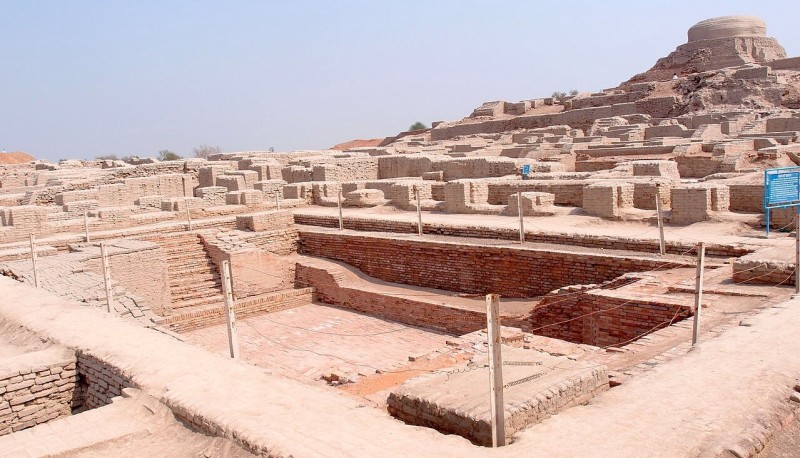 Harappa Bathhouse Ruins Desertification