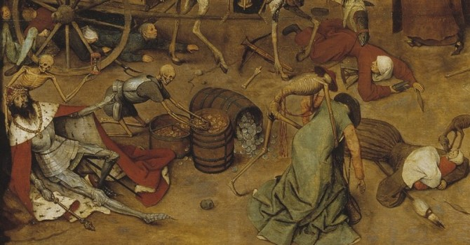 Triumph of death detail Pieter Bruegel