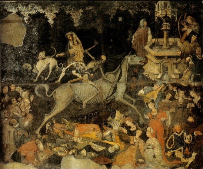 Triumph of Death fresco Palermo