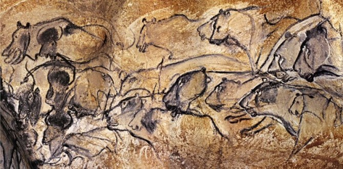 Prehistoric cave art France
