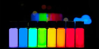 Quantum Dots with emission maxima in a 10-nm step are being produced at PlasmaChem in a kg scale