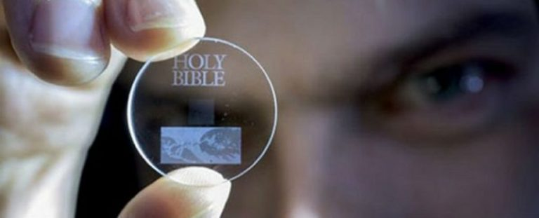 This tiny 5d disc can store 360 TB of data for 13.8 billion years