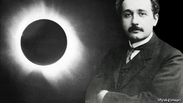 Albert Einstein Eclipse