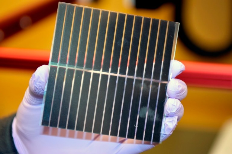 Researchers fabricate all-perovskite tandem solar cells with improved efficiency