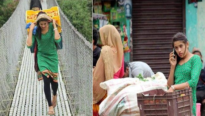Facebook Viral Image of Nepali Lady