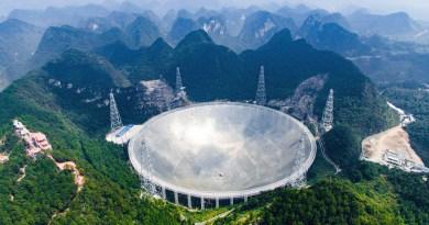 चीनले बनायो विश्वकै ठूलो रेडियो टेलिस्कोप