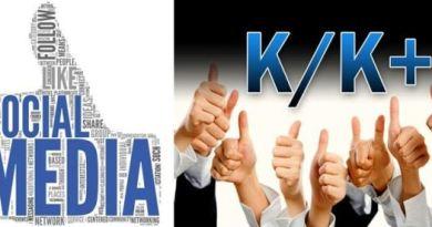 सामाजिक सञ्जालहरुमा आउने K र K+