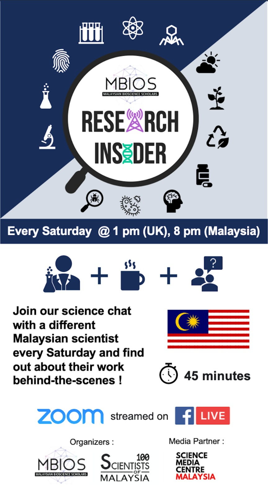 UPCOMING WEBINAR: 100 SCIENTISTS OF MALAYSIA