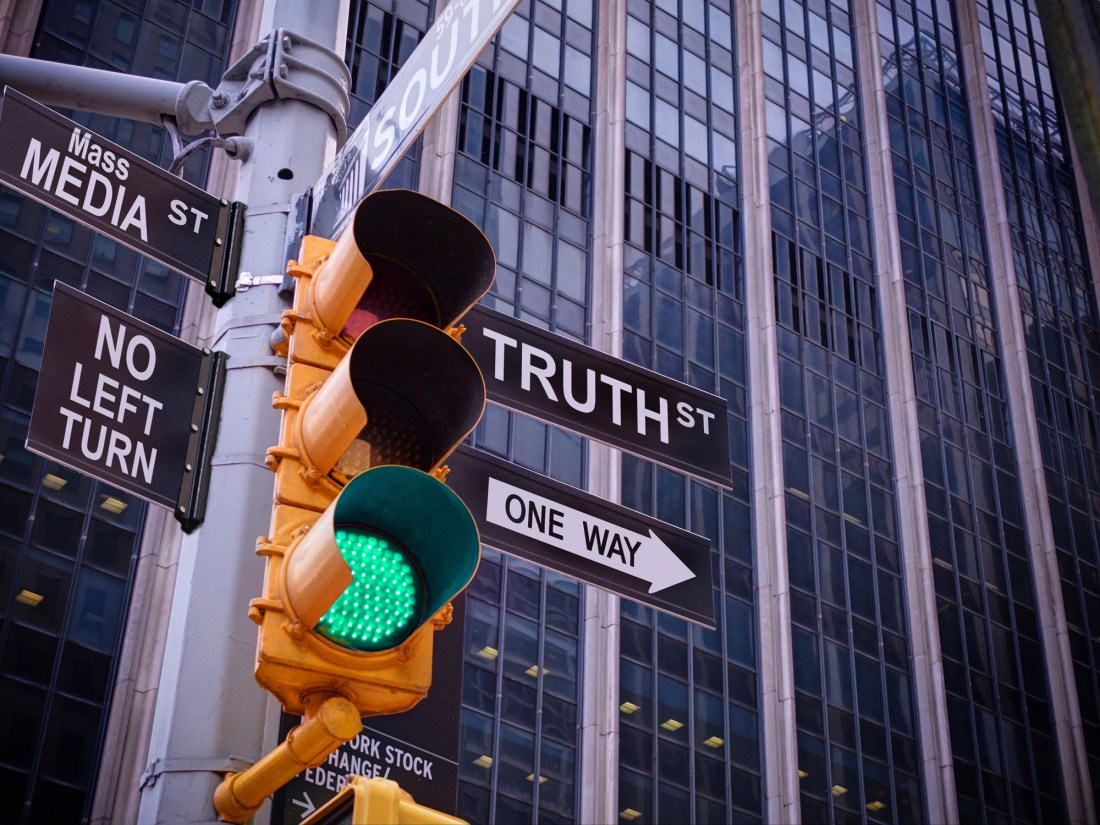 Fake news and mass media, truth with ESMH