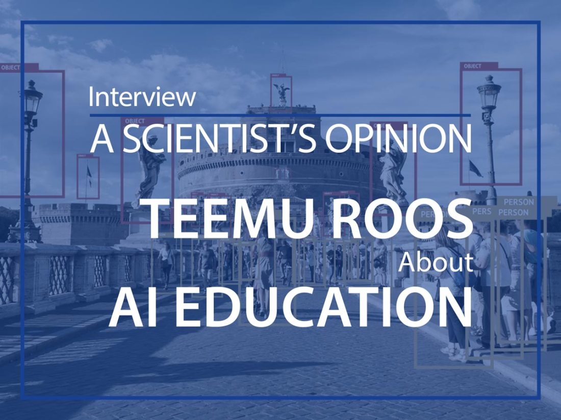 A scientist's opinion : Interview with Teemu Roos
