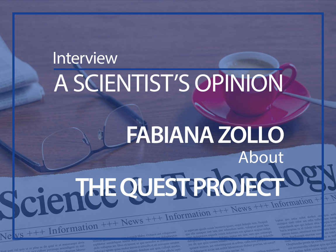 Fabiana Zollo Interviewed by Mićo Tatalović about the QUEST Project