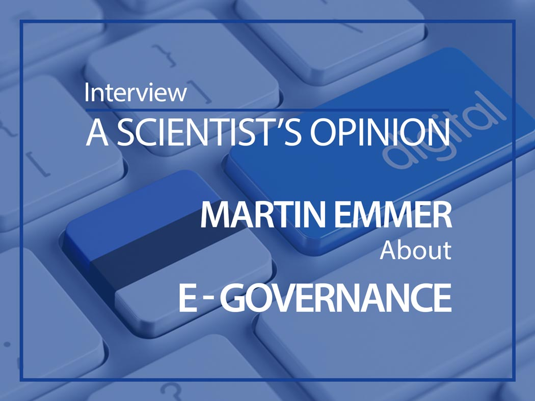 Martin Emmer ESMH scientists opinion e-governance