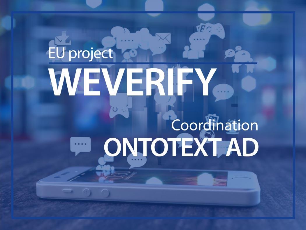 WeVerify EU project