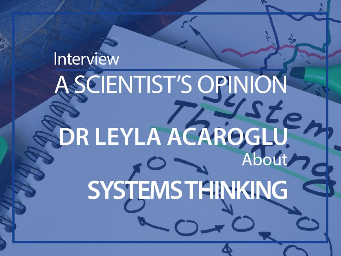 scientist opinion Leyla Acaroglu