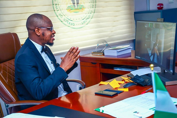 The Minister of Communications and Digital Economy, Dr. Isa Pantami.