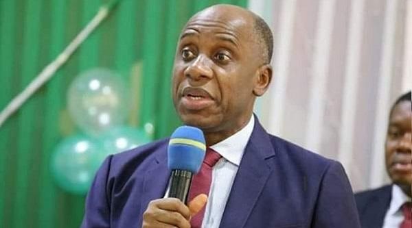 The Minister of Transportation, Rt. Hon. Chibuike Amaechi