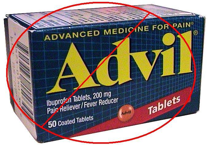 No Advil